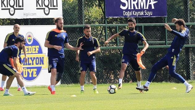 Fenerbahçe derbinin hazırlıklarını tamamladı
