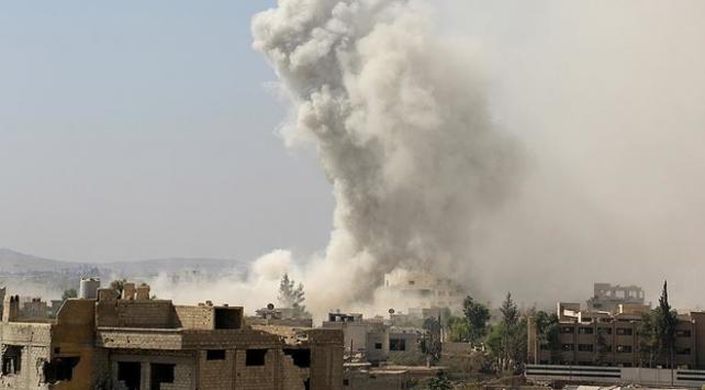 Suriyede Esed rejiminin saldırıları sürüyor