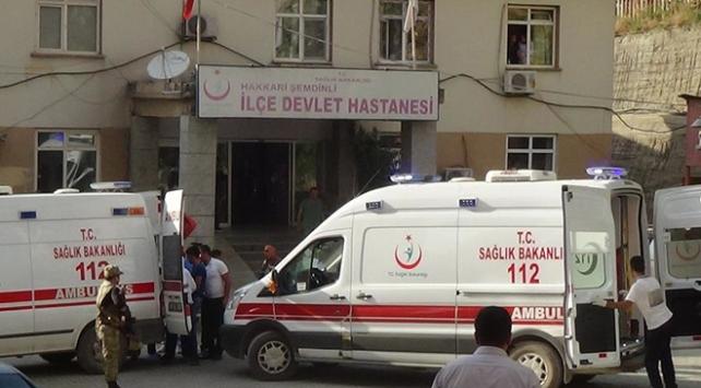 Hakkaride terör saldırısı: 1 asker ve 1 sivil şehit