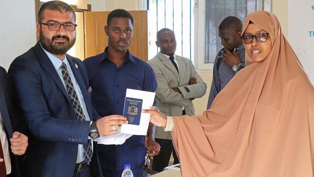 Türkiye Maarif Vakfından Somalili öğrencilere burs