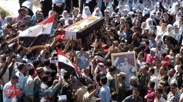 Suriyedeki Ölü Sayısı Açıklandı