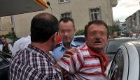 Polisten Kaçtı Kamyonete Çarptı