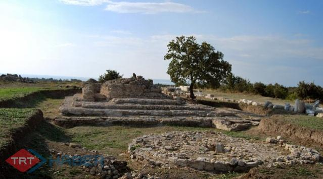 Zeytinliadada Bizans Fırınları Bulundu