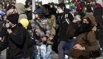 Şilide Öğrenciler Sokakta