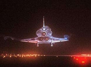 Atlantis Döndü...