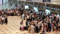 Antalya'ya Havadan Turist Yağdı