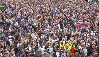 Kanlı Katliam Norveç'te Protesto Edildi