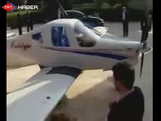 Ahmedinejadın Hediye Ettiği Uçak