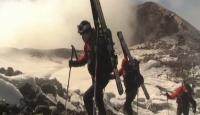 Aktif Yanardağda Kayak Macerası