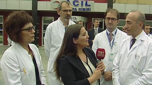 Naim Süleymanoğlunun doktorlarından açıklama