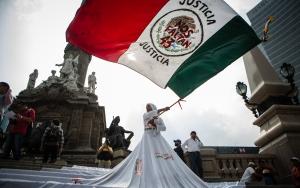 Meksikada protesto