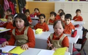 Küçük Hibenin okul sevinci