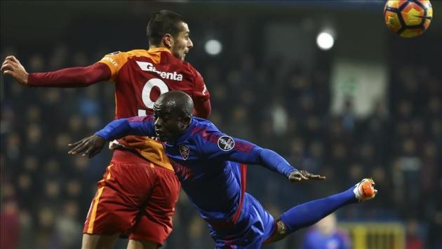 Galatasaray ile Kardemir Karabükspor 19. randevuda
