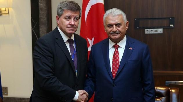 Başbakan Yıldırım, ILO Genel Direktörü Ryderi kabul etti