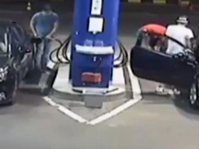 Benzin istasyonunda sigara içmenin sonu!