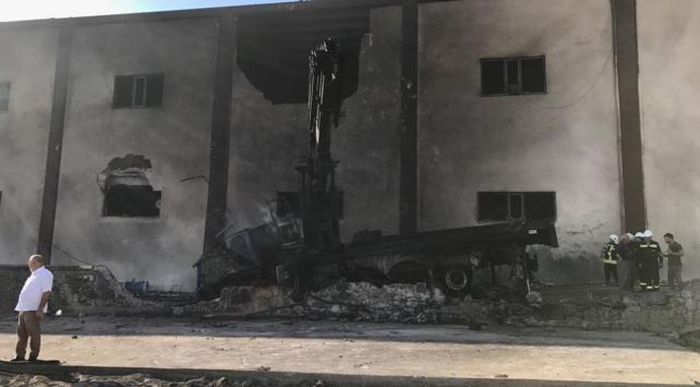 Yakıt tankı nakli sırasında patlama: 11 yaralı