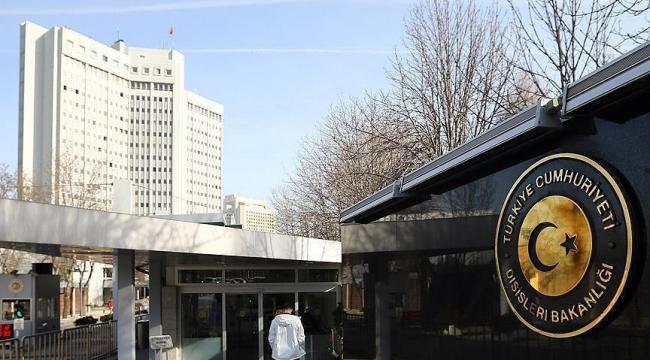 Dışişleri Bakanlığı: Türkiye, Irak Hükümetinin yanında yer alacaktır