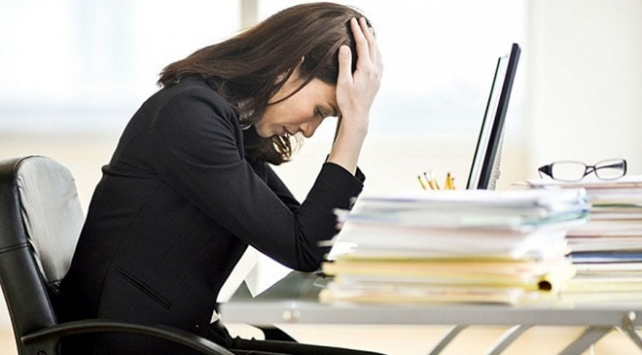 Stresli çalışma ortamları birçok hastalığın habercisi
