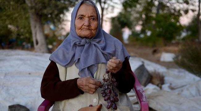 104 yaşındaki Ayşegül nine uzun yaşamın sırrını anlattı