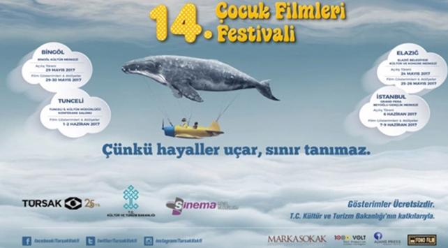 """""""14. Çocuk Filmleri Festivali"""" başladı"""