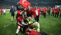 Ampute Milli Futbol Takımı'na tebrik yağdı