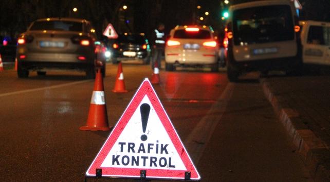 81 ildeki trafik denetiminde 18 bin 762 sürücüye ceza