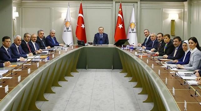 AK Parti MYK, Cumhurbaşkanı Erdoğan başkanlığında toplanacak