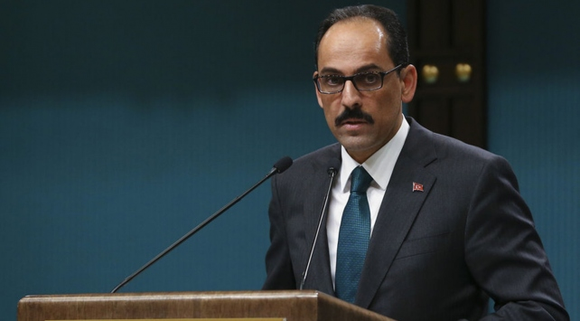 Cumhurbaşkanlığı Sözcüsü Kalın: Amaç, Suriyedeki savaşı sonlandırmak olmalı