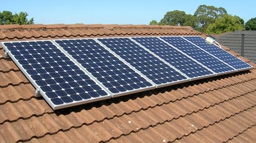Güneş enerjisinden evlere elektrik
