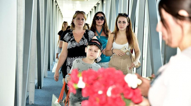 Rus turistlerin bir numaralı tatil noktası Türkiye