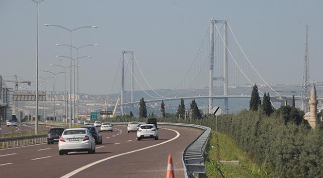 """""""Osmangazi Köprüsünden günde  21 bin araç geçiyor"""""""