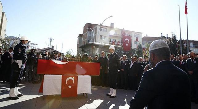 Şehit polis memuru Uz için Kahramankazanda tören