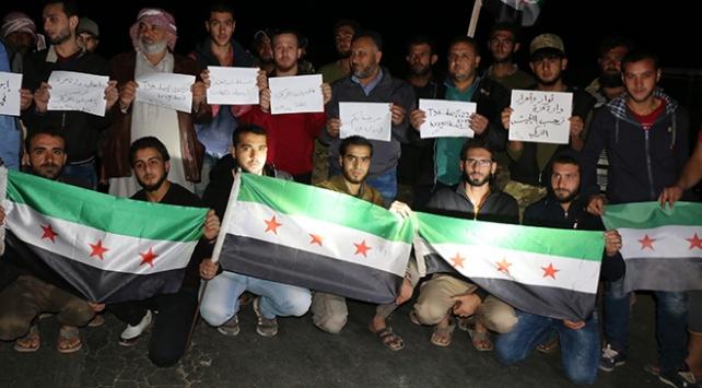 İdlibde Türk askerine sevgi gösterisi