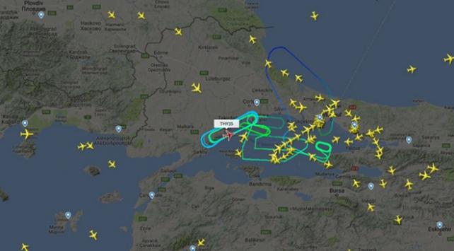THYnin Montreal uçağı, yolcu için geri döndü