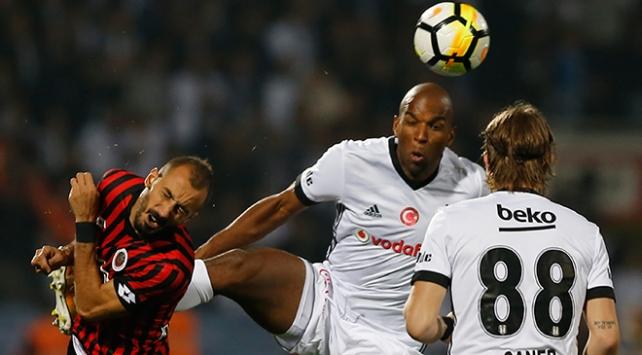 Gençlerbirliği-Beşiktaş Maçı: 2-1