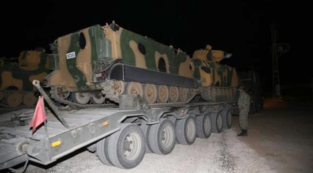 TSKnın İdlibe askeri intikali sürüyor