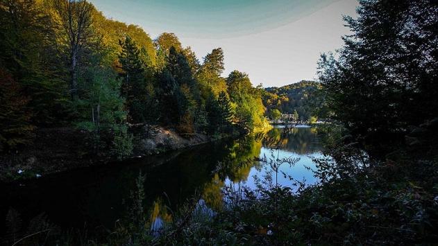 Domaniç Dağları sonbaharın renklerine büründü