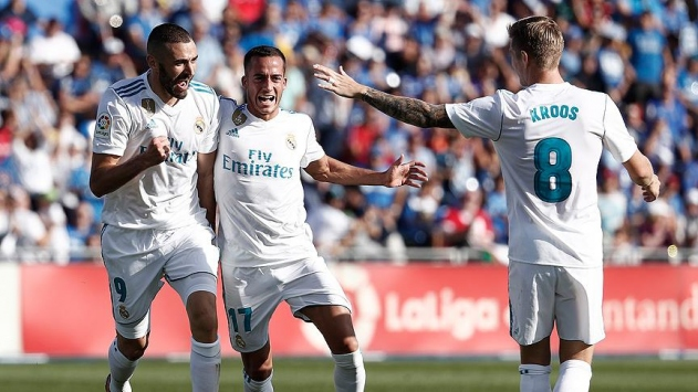 Real Madrid derbiden 3 puanla döndü