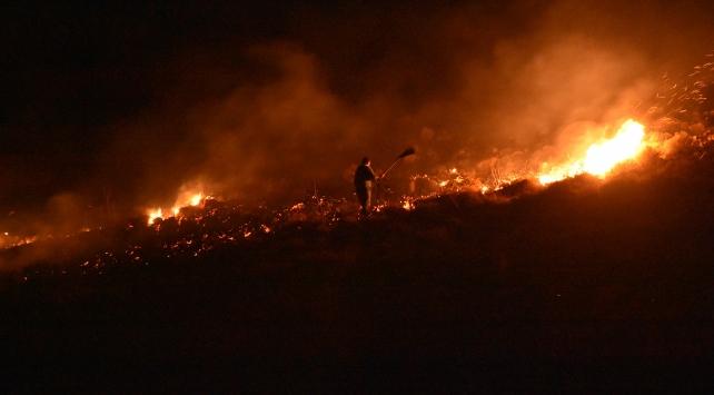 Bodrumdaki yangın yerleşim yerlerine doğru ilerliyor!