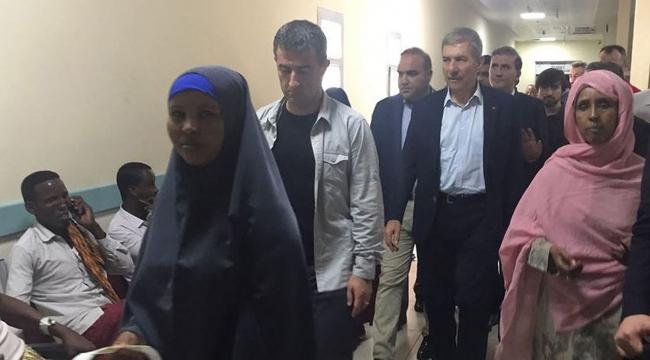 Sağlık Bakanı Demircan Somalide