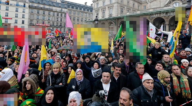 Türkiyeden teröre çanak tutan Avrupaya kınama