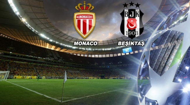 Monaco - Beşiktaş maçı TRT ekranlarında
