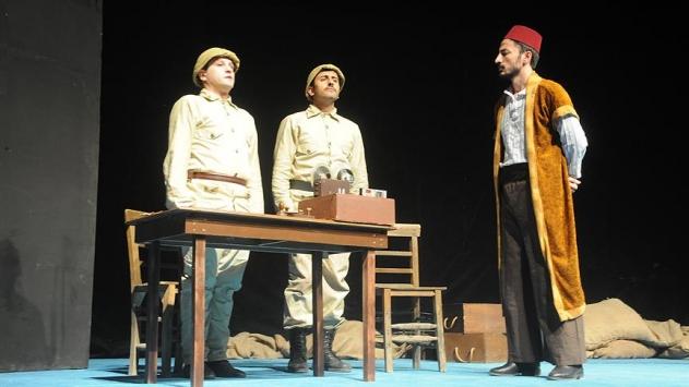 Osmanlının son zaferi öğrencilere tiyatroyla anlatıldı