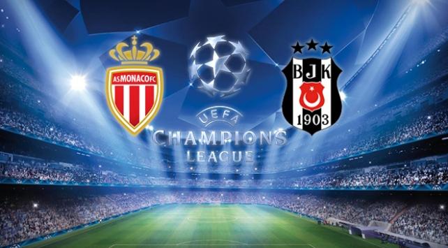 Monaco-Beşiktaş maçı bu akşam TRT1de