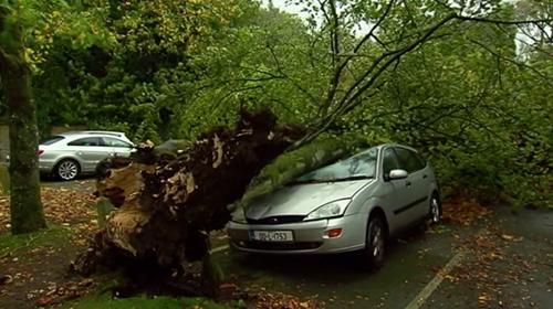 Ofelya fırtınası İrlandayı vurdu
