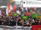 Frankfurt polisinden skandal PKK paylaşımı
