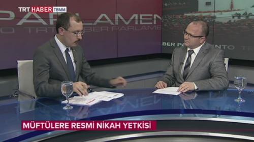 AK Parti Grup Başkanvekili Muş, müftülere nikah kıyma yetkisi hakkındaki soruları cevapladı