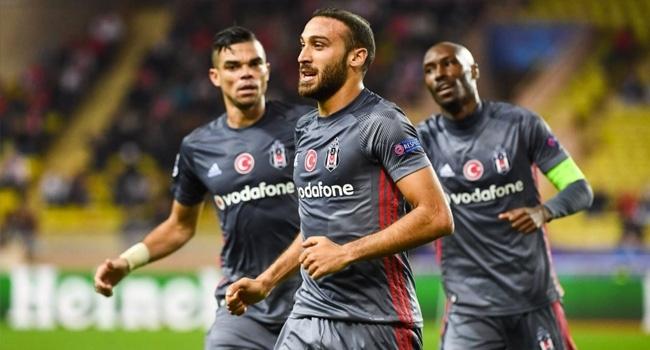 Beşiktaş Şampiyonlar Liginde üçte üç yaptı