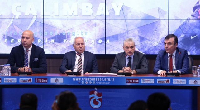 Trabzonsporda Rıza Çalımbay dönemi başladı