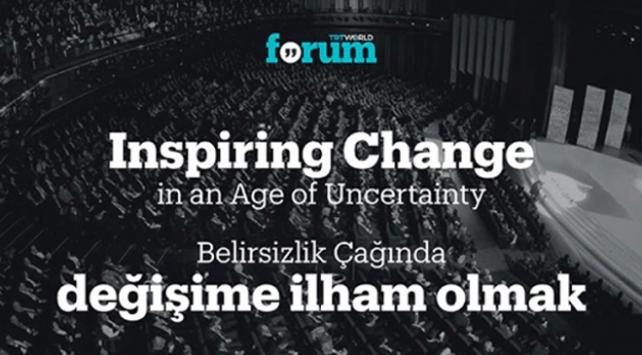 TRT World Forum: İstanbuldan dünyaya değişim ilhamı